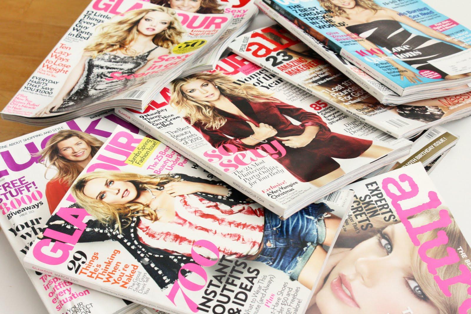 Fashion Magazine Stack